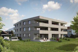 Wohnung Bludesch Farbgasse Ansicht 2